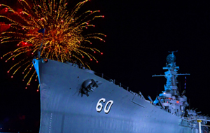 July 4th Celebration at the USS Alabama Battleship