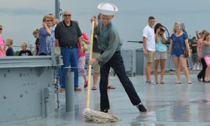 Join us for the Living History Crew at USS ALABAMA Battleship
