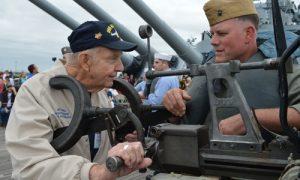 USS ALABAMA Crewmen's Association Reunion and Living History Crew Drill