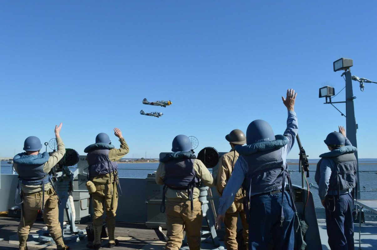 USS Alabama LIving History Crew