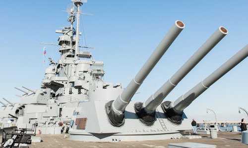USS Alabama Battleship BB-60