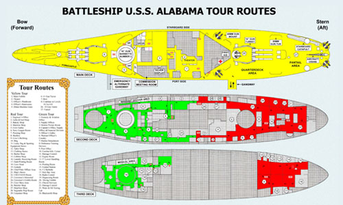 Tour the USS Alabama Battleship