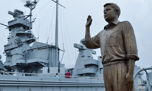 USS ALABAMA Battleship Memorial Park - The Recruit Memorial