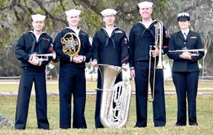 US Navy Band-Southeast Concert at USS ALABAMA Battleship