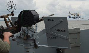 USS Alabama Battleship - Living History Crew Event