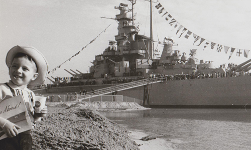 USS ALABAMA original Campaign to raise money