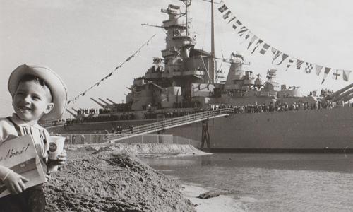USS ALABAMA original Campaign to raise money
