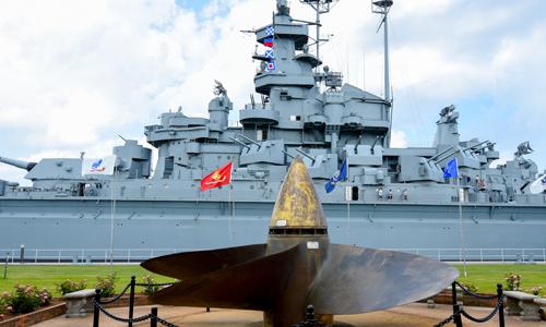Donate today to the USS Alabama Battleship Memorial Park