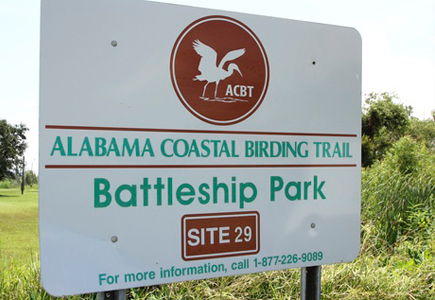 Bird Trail at USS ALABAMA Battleship Memorial Park